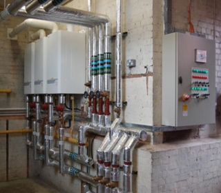 Plant Room With Boilers